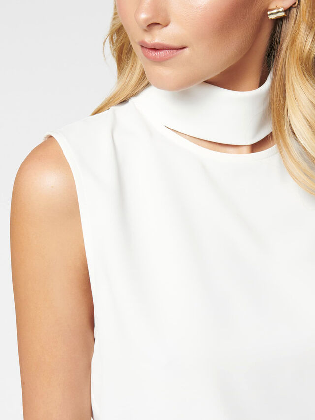 Rylee Cut Out Neck Top