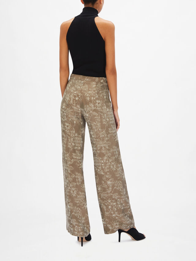 Dioniso Printed Button Pant