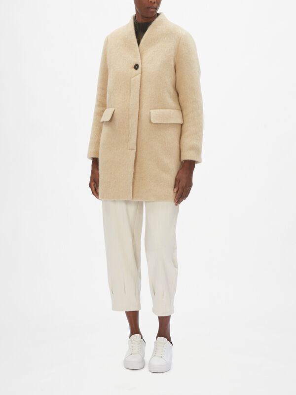Orsaminore Collarless Coat