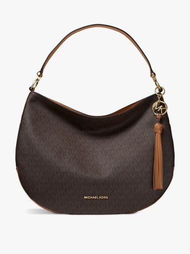 Brooke Large Zip Hobo Bag