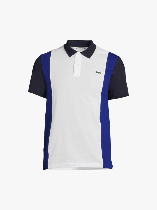 Ultra-Lightweight Colorblock Polo Shirt