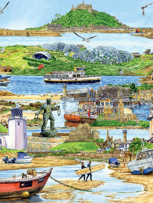 Escape to Cornwall Puzzle 500pc