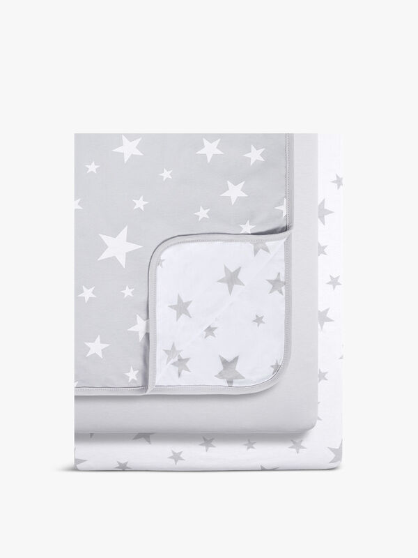 Crib Bedding Set Stars 3PC