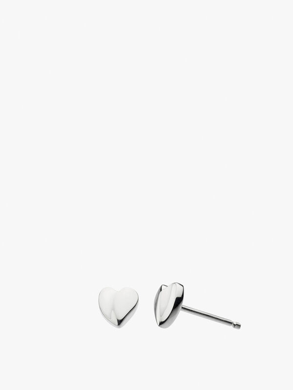 Miniature Sweet Heart Studs