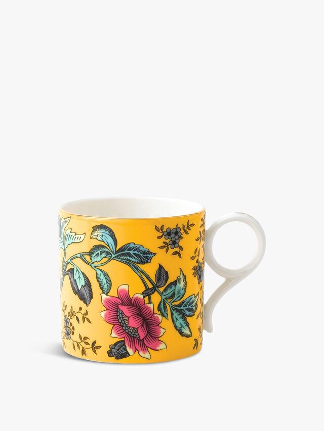 Wonderlust Yellow Tonquin Mug Large