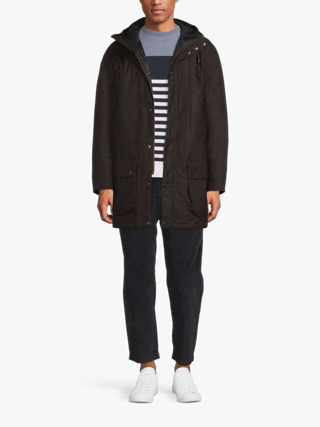 Hooded Beaufort Wax Jacket