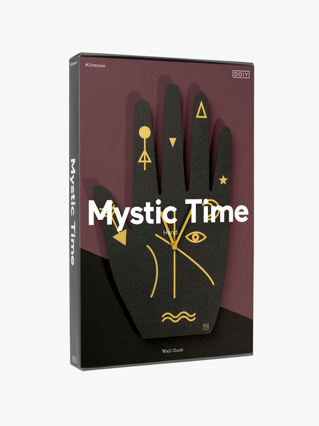 Mystic Time Hand Clock