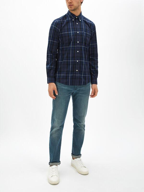 Sandwood Tailored Check Shirt