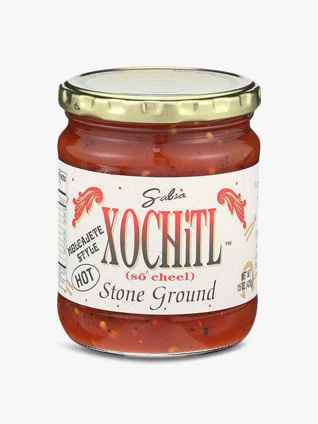 Stone Ground Hot Salsa 425G