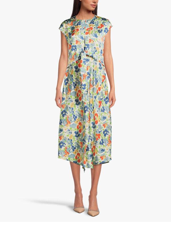 Shawndra Victoria Bay Floral Midi Dress