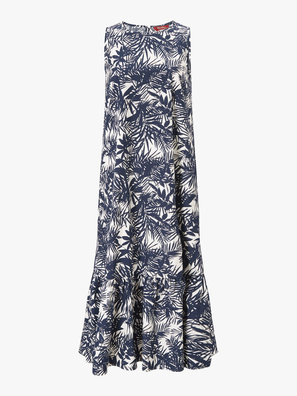 Onice Palm Print Dress
