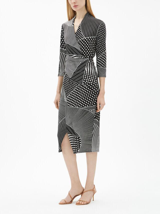 Text Spot Dress