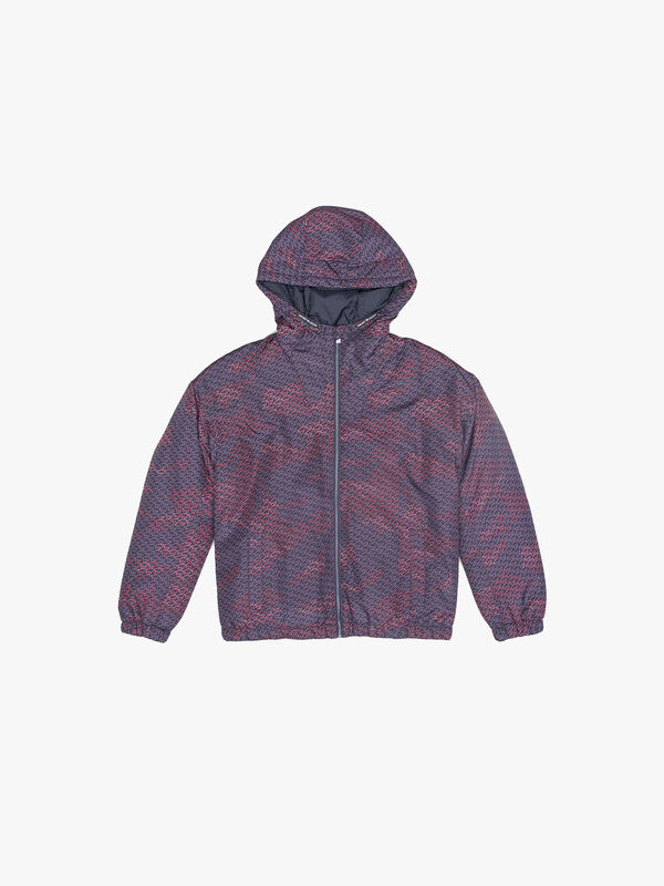 All Over Print Jacket with Hood