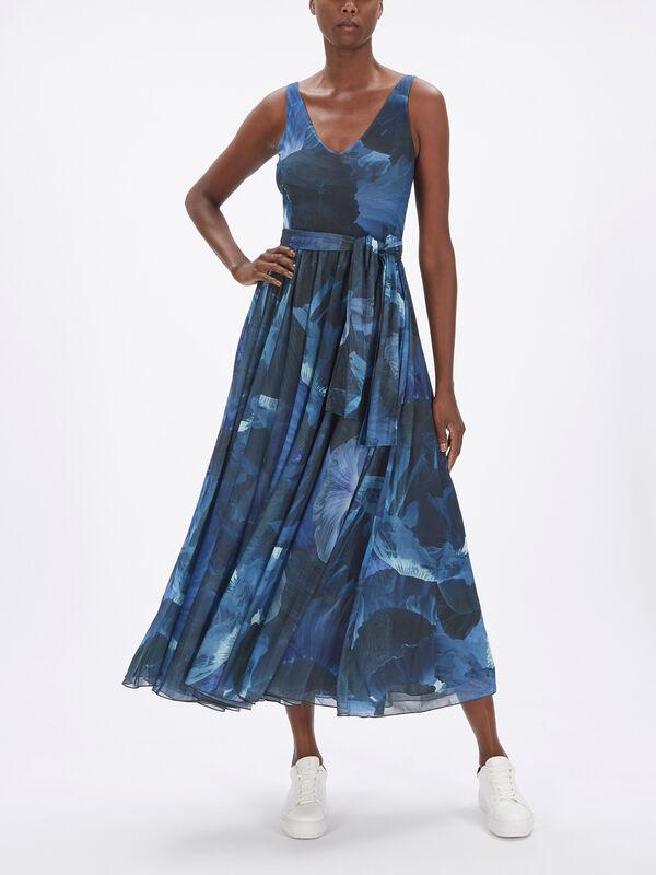 Primula Sleeveless Belted Midi Dress
