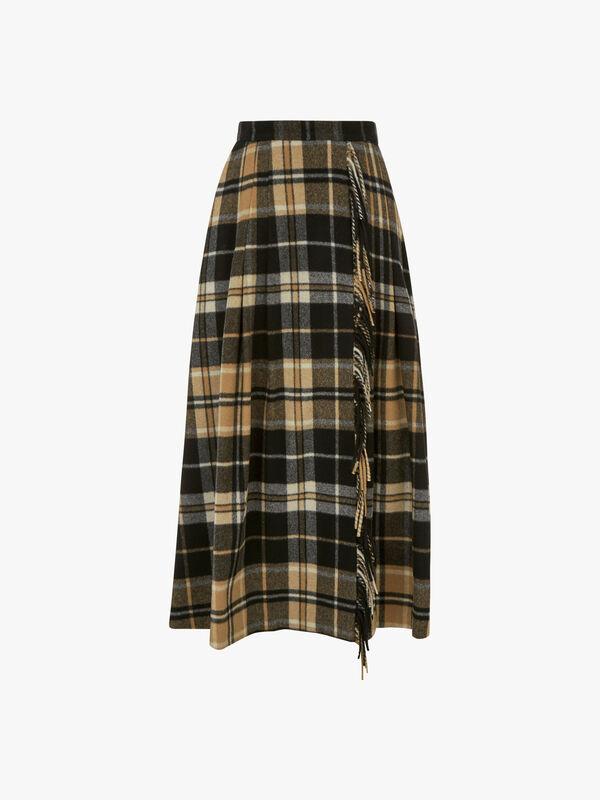 Diletta Checked Skirt