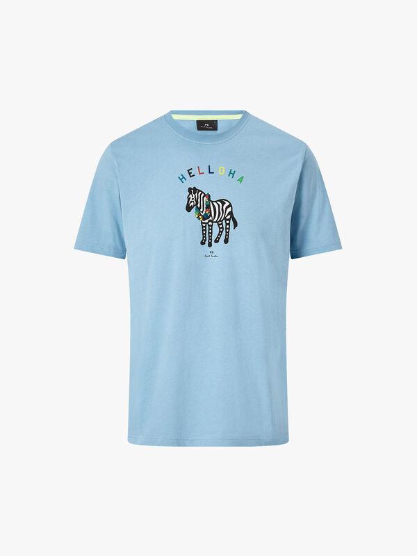 Helloha Zebra Print T-Shirt