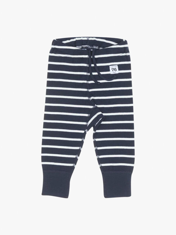 Striped GOTS Organic Baby Leggings