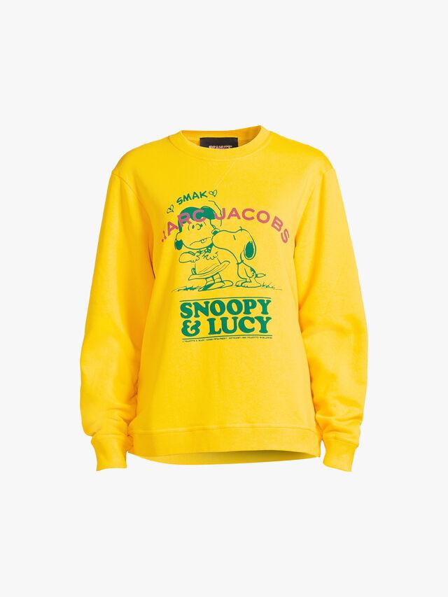 MJ Peanuts I Fall In Love Crew Sweatshirt