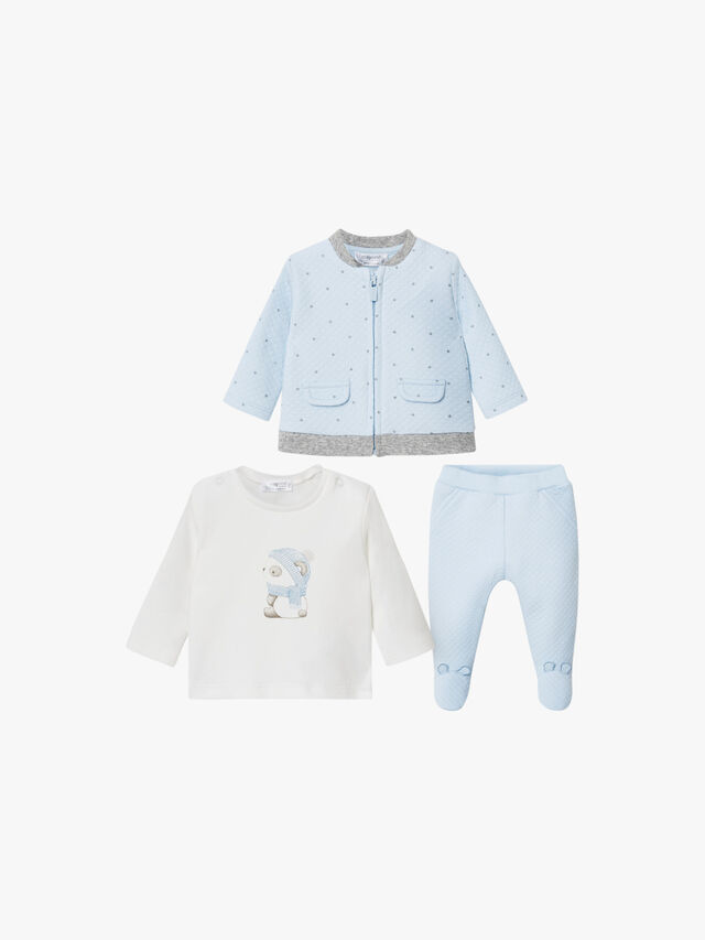 Quilted Star Tracksuit Set