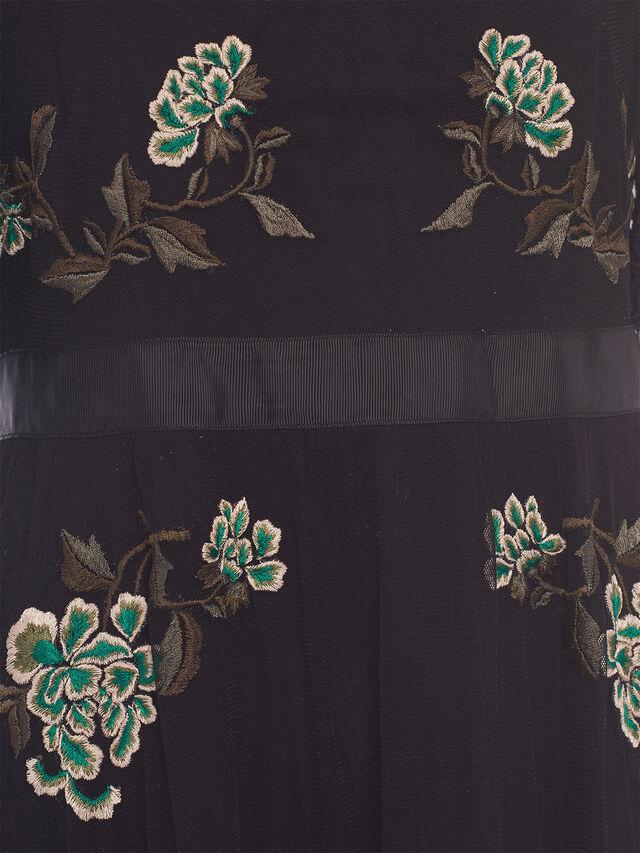 Ambre Embroidered Midi Dress