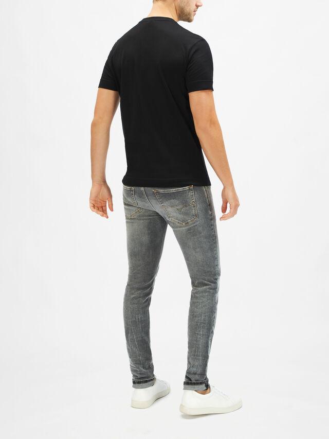 Short Sleeve EA Shiny Regular T-Shirt
