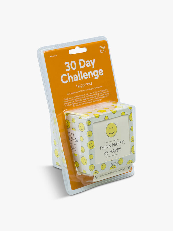 30 Days Challenge: Happiness