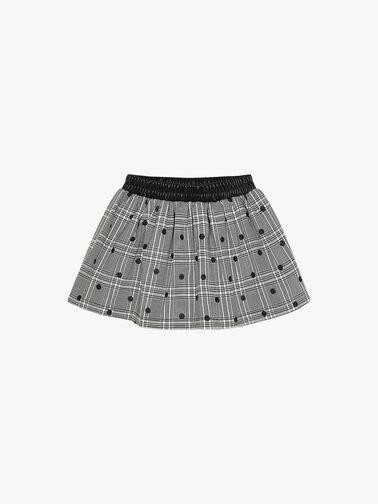 Glitter-dot-on-check-skirt-4903-AW21
