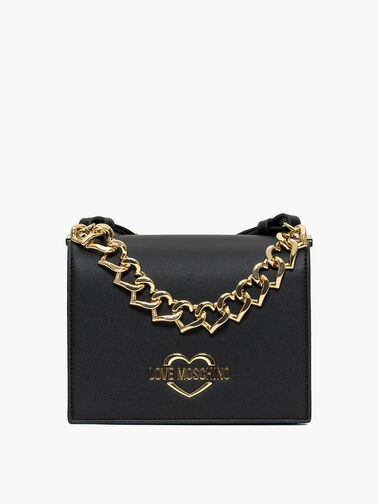 Crossbody with heart chain detail