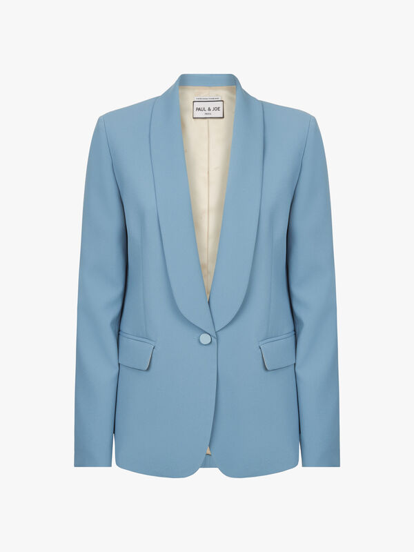 Satin Lapel Jacket