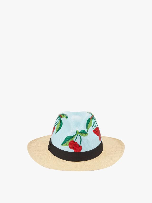Cherrie Leave Hat