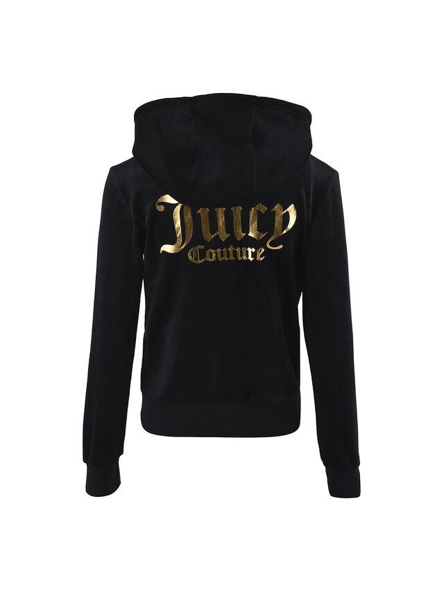 Juicy Velour Zip Through Hoody
