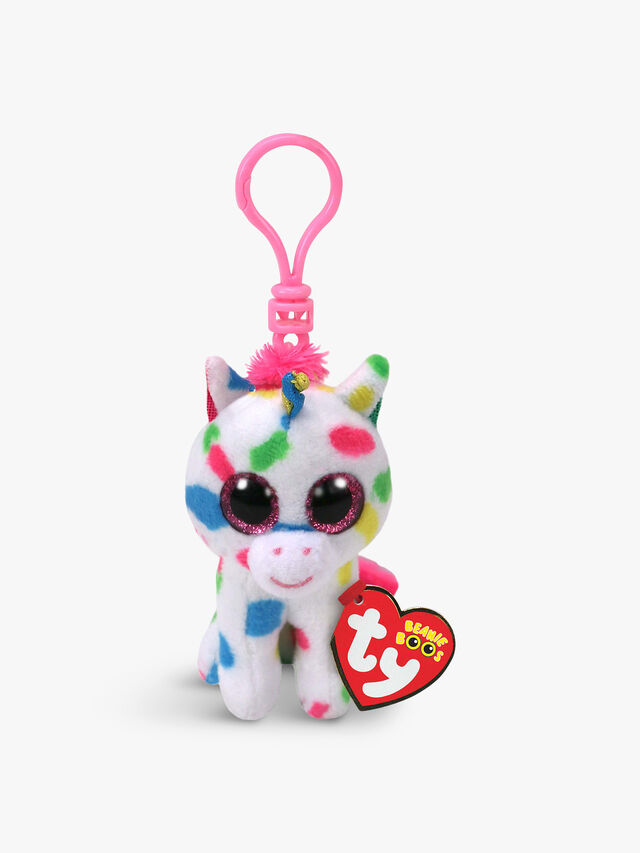 Harmonie Unicorn Boo Key Clip