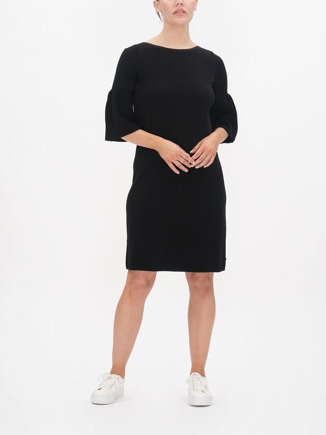 Grosso Ruffle Sleeve Midi Dress