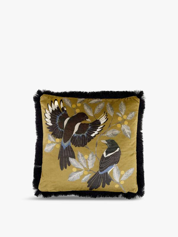 Borrowers Gold Cushion