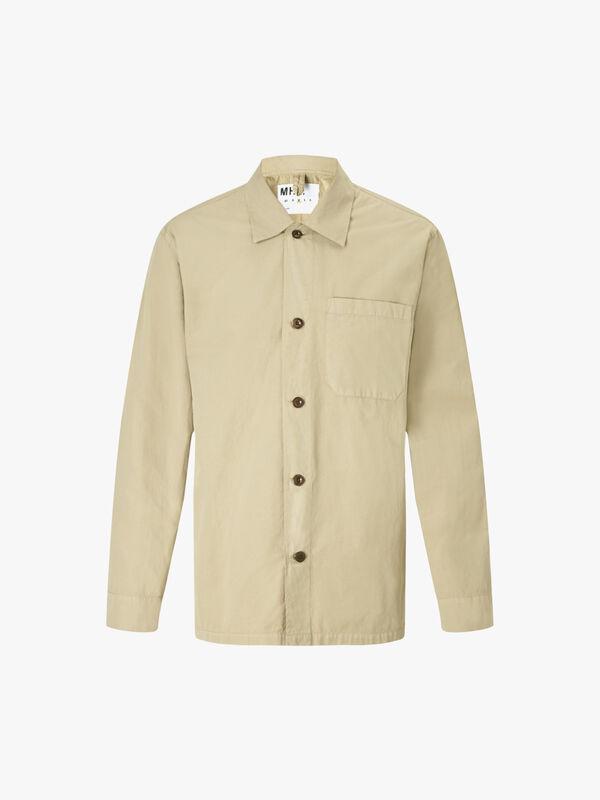 Compact Cotton Poplin PJ Shirt