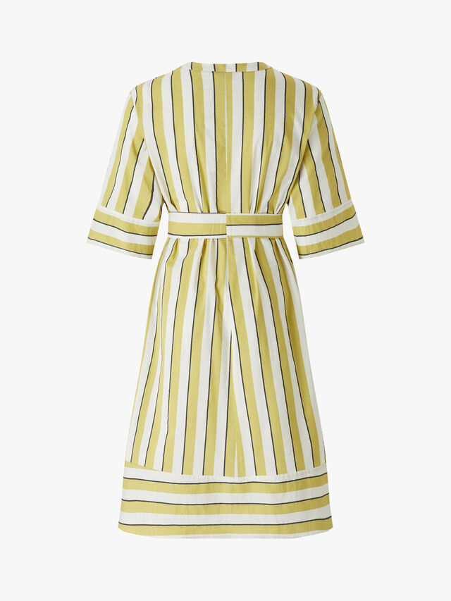 Chieti Belted Stripe Dress