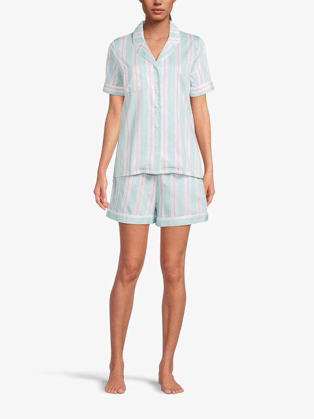 Milly Mint Ladies Shortie Pyjama Set