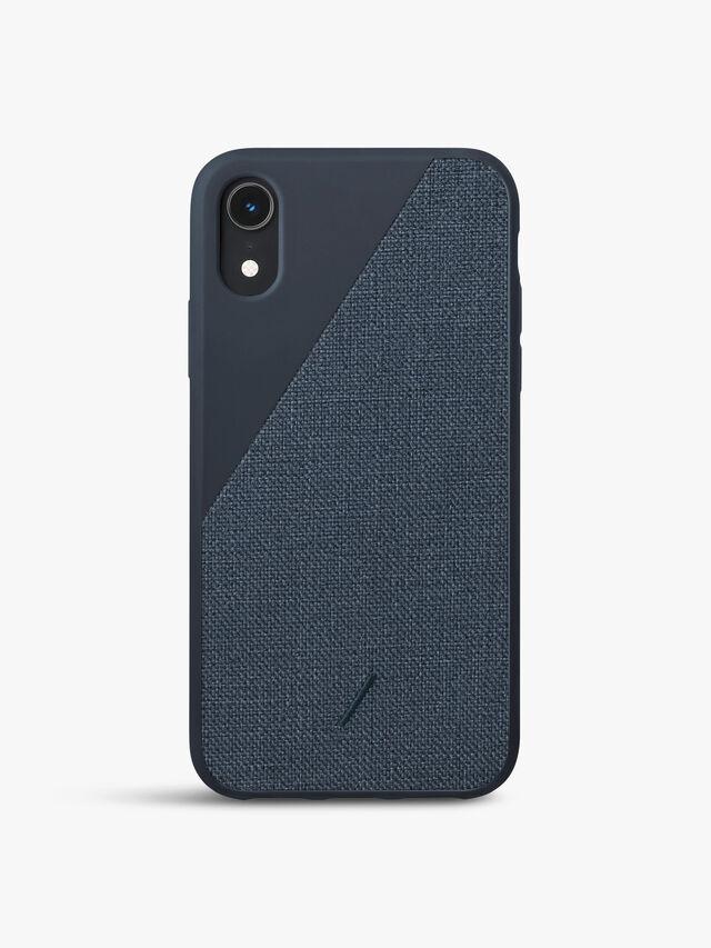 Clic Canvas iPhone Xr Case Navy