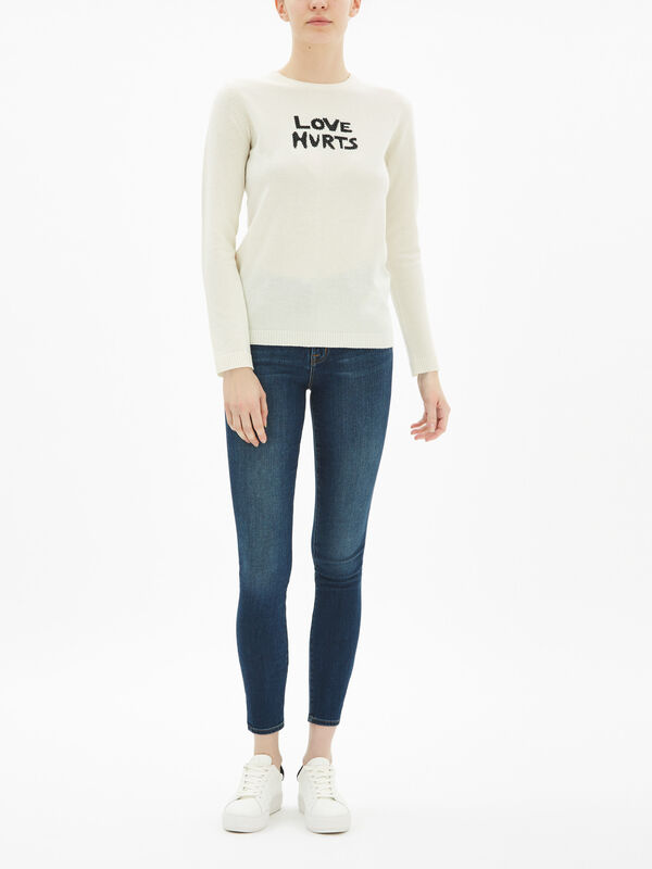 Love Hurts Cashmere Jumper