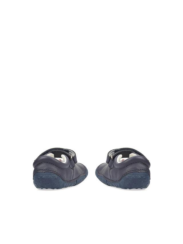Petal Navy Nubuck Baby Shoes