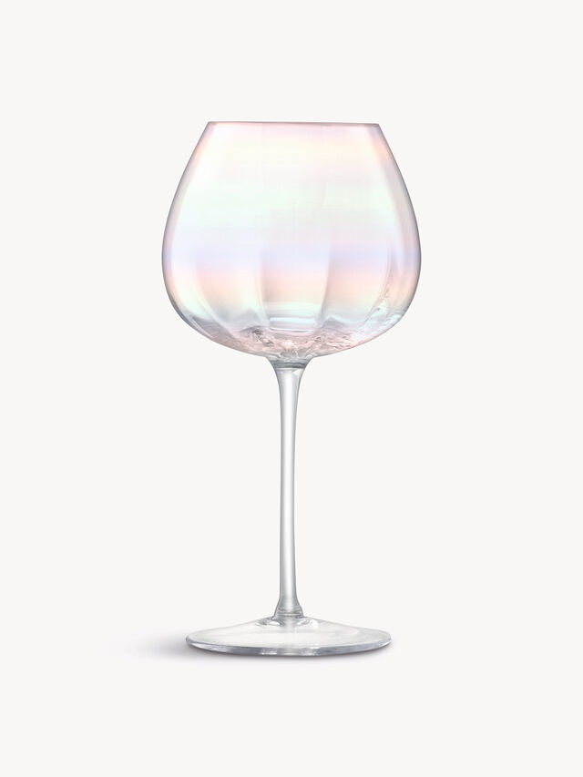Pearl Red Wine Glass Set of 4
