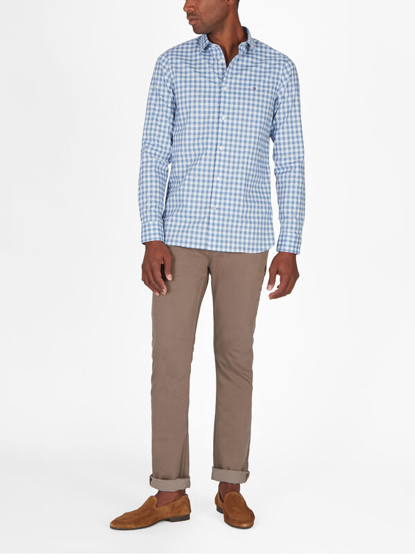 Houndstooth Gingham Shirt