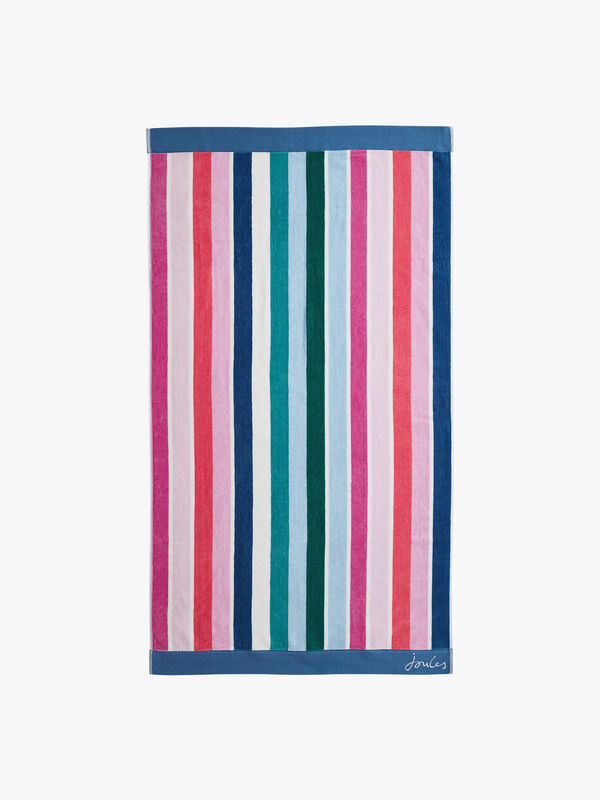 Lost Garden Stripe Bath Sheet