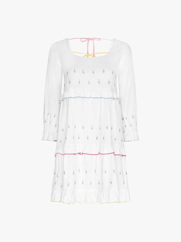 Odelia Short Tiered Dress