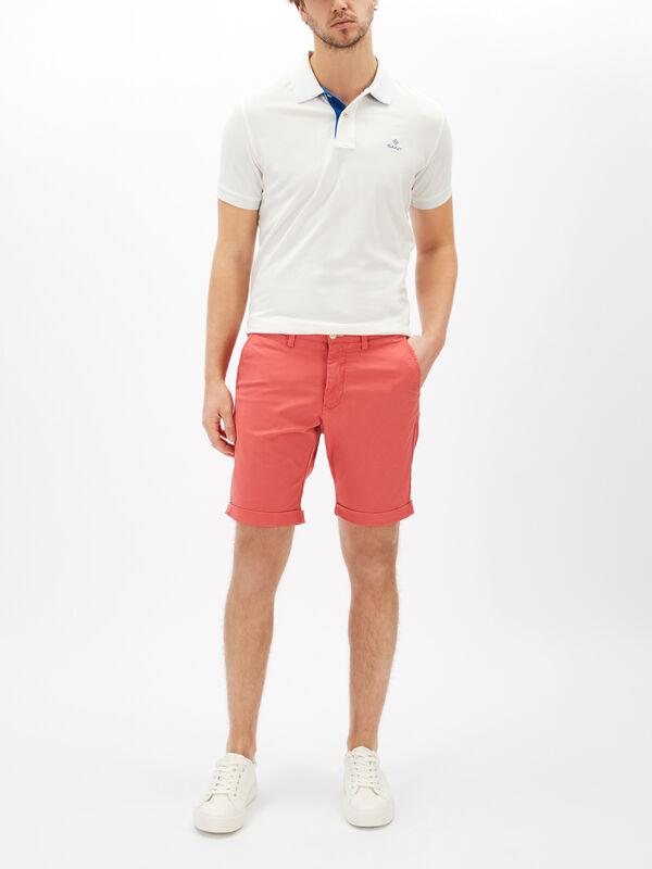 Regular Fit Sunfaded Shorts