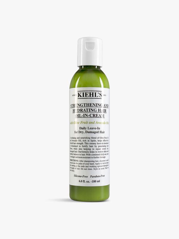Strengthening & Hydrating Hair Oil-In-Cream