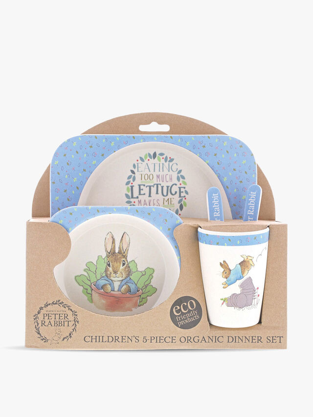 Peter Rabbit Organic Dinner Set