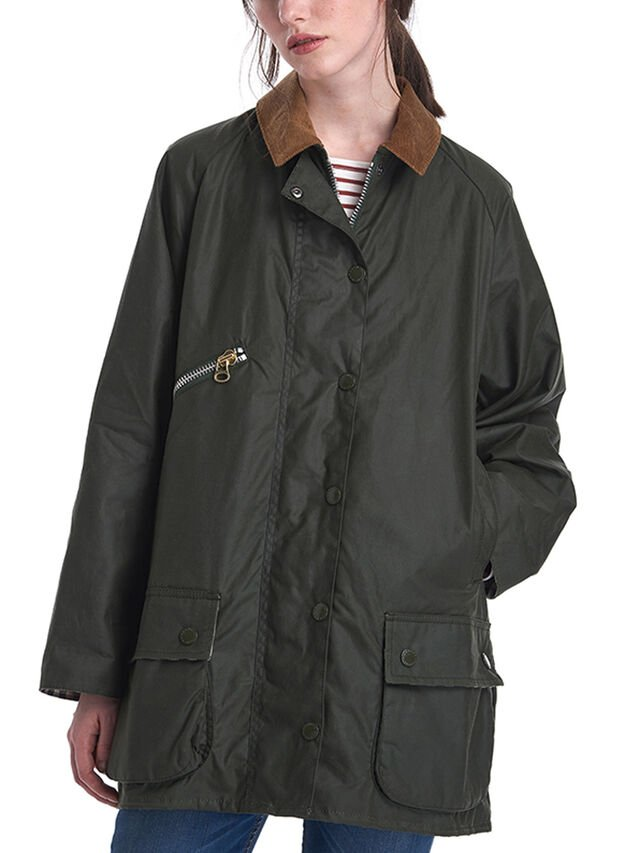 Barbour by ALEXACHUNG Edith Wax Jacket