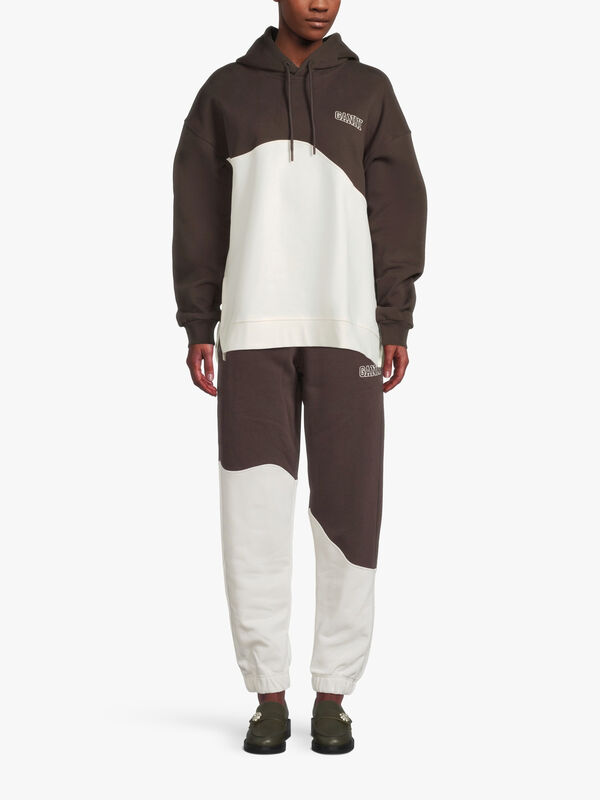 Software Two Toned Wave Oversized Hoodie
