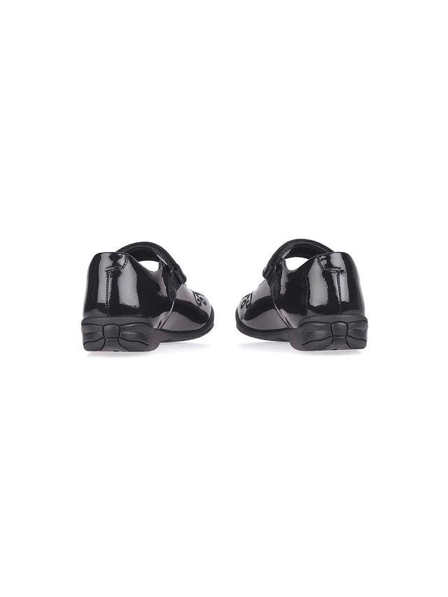 Hopscotch Black Patent Leather School Shoes